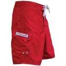 Men's Red Lifeguard Shorts LGSR