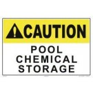 Chemical Storage Sign 8001w1210e