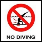 """No Dive"" Symbol - Deck C621500"