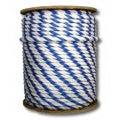 "3/4"" Blue/White Safety Rope Per Foot PR753"