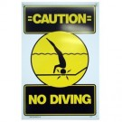 No Diving Sign PM40344