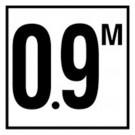 C612709 Meter Depth Marker