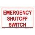 Emergency Shutoff Sign  6501WS0906E