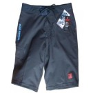 Men's 4 Way Stretch Black Boardshort