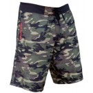 Men's 4 Way Stretch Camo Green Boardshort