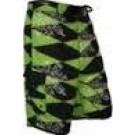Men's Diamond Green Boardshort DIGR
