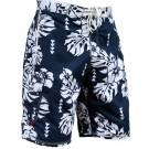 Men's Island Floral Blue Boardshort IFBL