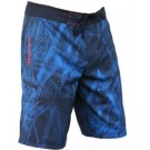 Men's 4 Way Stretch Lazer Blue Boardshort