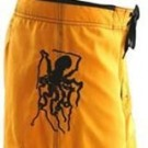Men's Octo Tako Yellow Boardshort OTYL