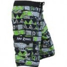 Men's Tribal Instinct Green Boardshort TRIGR