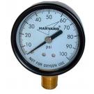 """Pressure Gauge Steel Case 4.5"""" IPG60454L"""