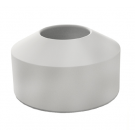 "ALUMINUM ESCUTCHEON ""TALL"" PE0019WT"